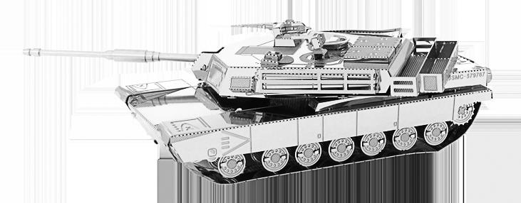 Metal Earth ''M1 Abrams Tank''
