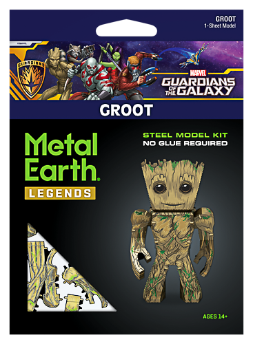 Metal Earth ''Marvel Legends Groot''