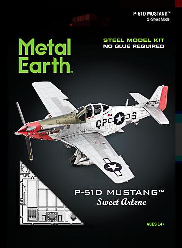 Metal Earth ''Mustang P51D Sweet Arlene''
