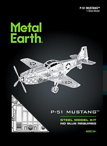 Metal Earth ''P-51 Mustang''