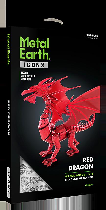 Metal Earth ''Red Dragon''