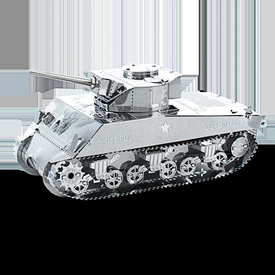 Metal Earth ''Sherman Tank''
