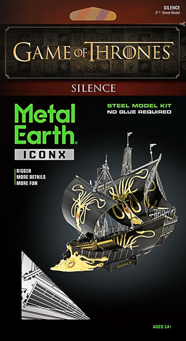 Metal Earth ''Silence''
