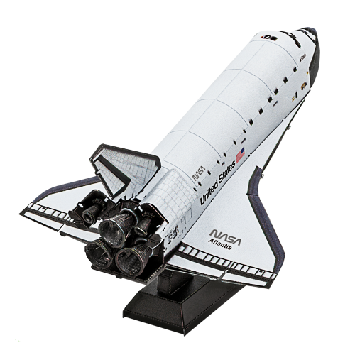 Metal Earth ''Space Shuttle Atlantis''