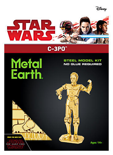 Metal Earth ''Star Wars Gold C-3PO''