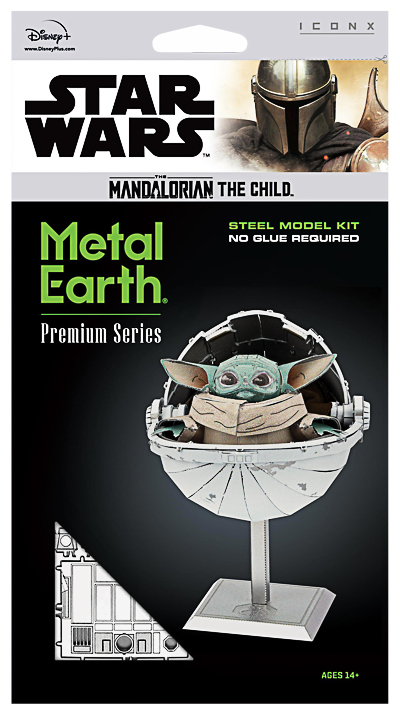 Metal Earth ''Star Wars The Child''