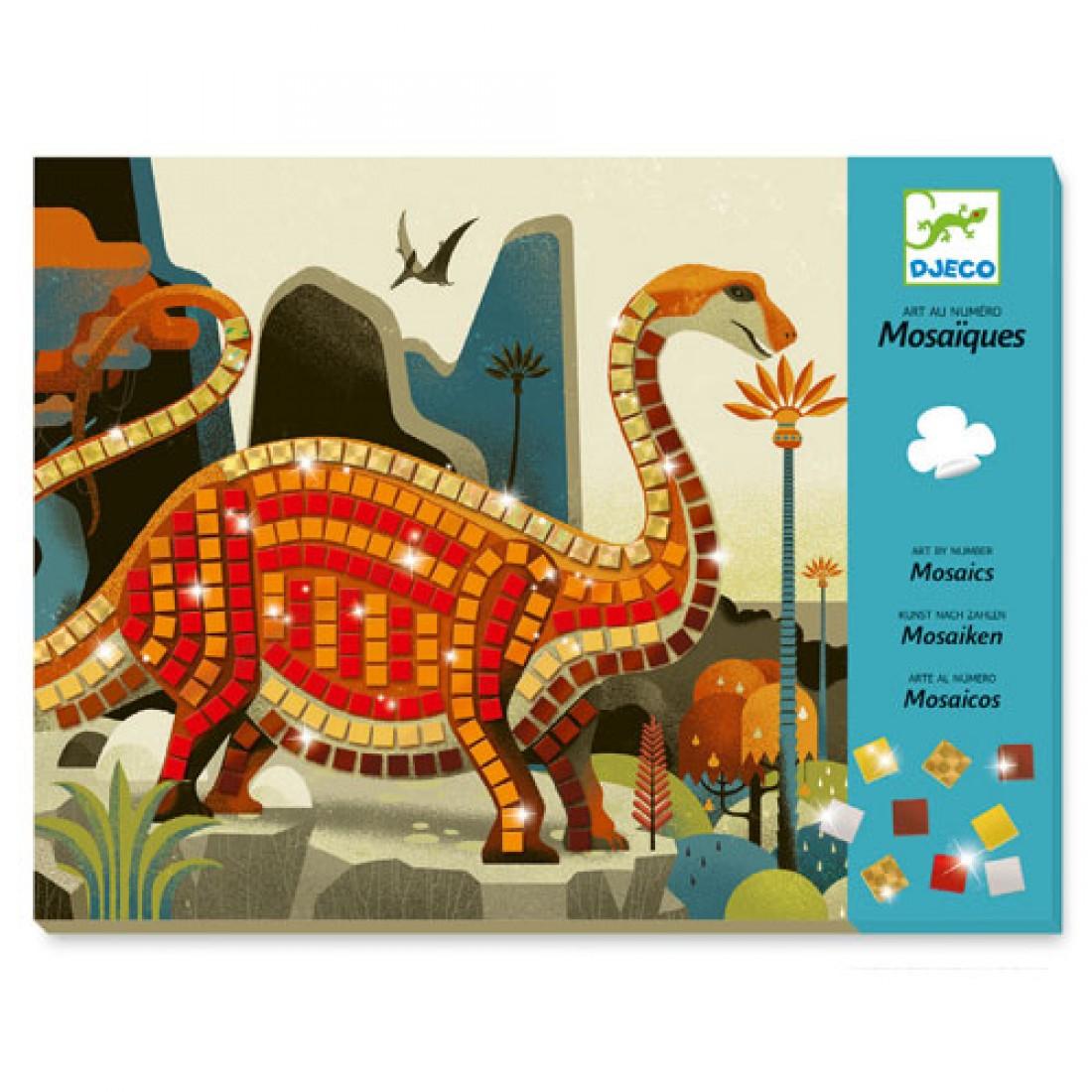 Small gift - Mosaics - Dinosaurs