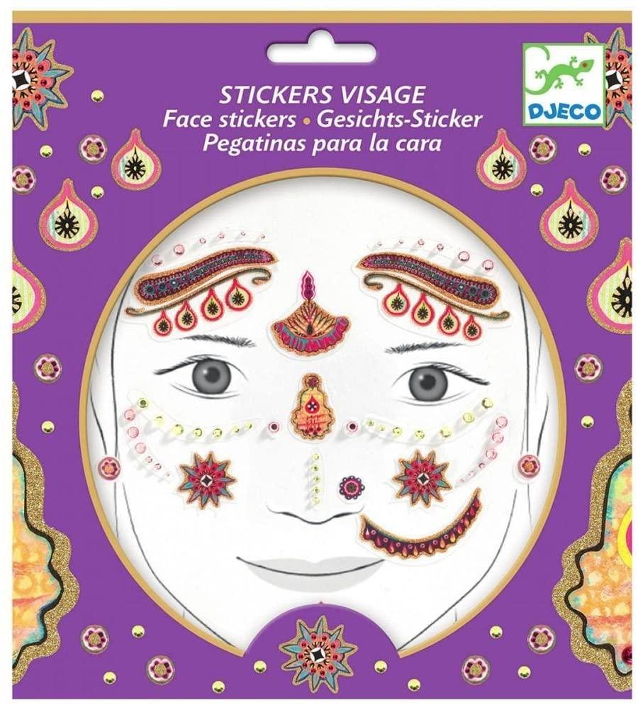 Face stickers - Princess India