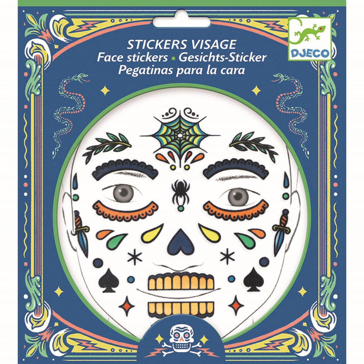 Face stickers - Skull