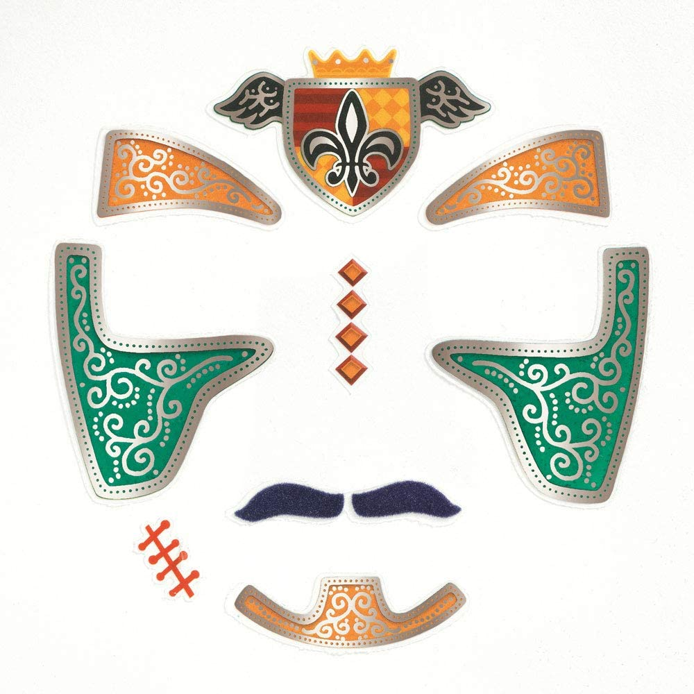 Face stickers - Knight