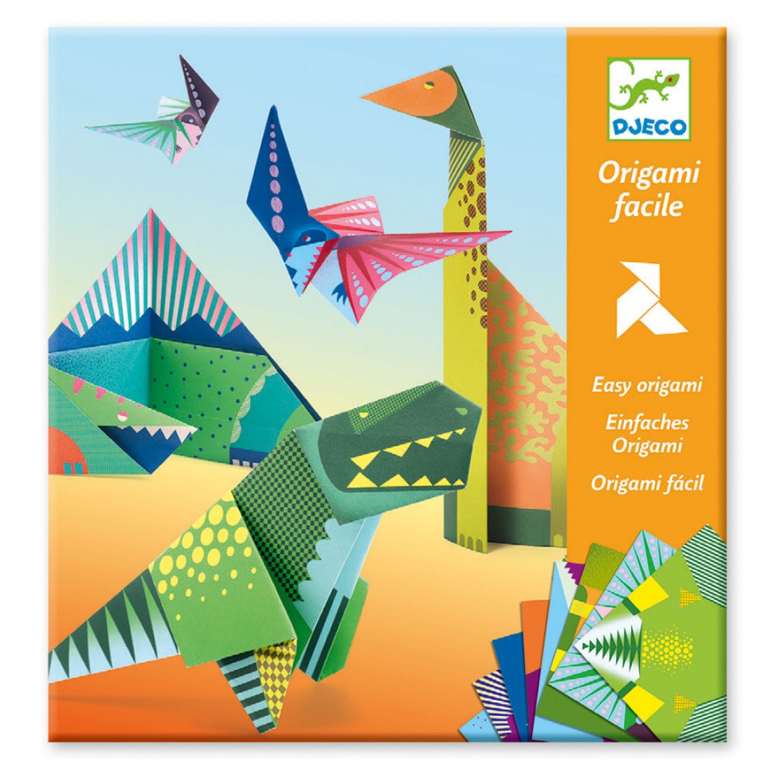 Small gifts - Origami - Dinosaurs