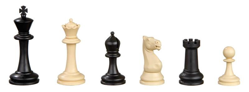Nerva, Staunton design chess pieces, plastic
