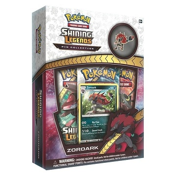 Pokemon Box SL Zoroark Pin