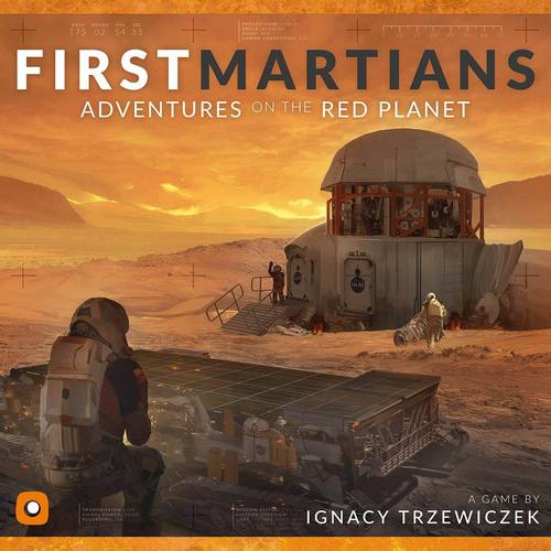 First Martians Adventures on Red Planet