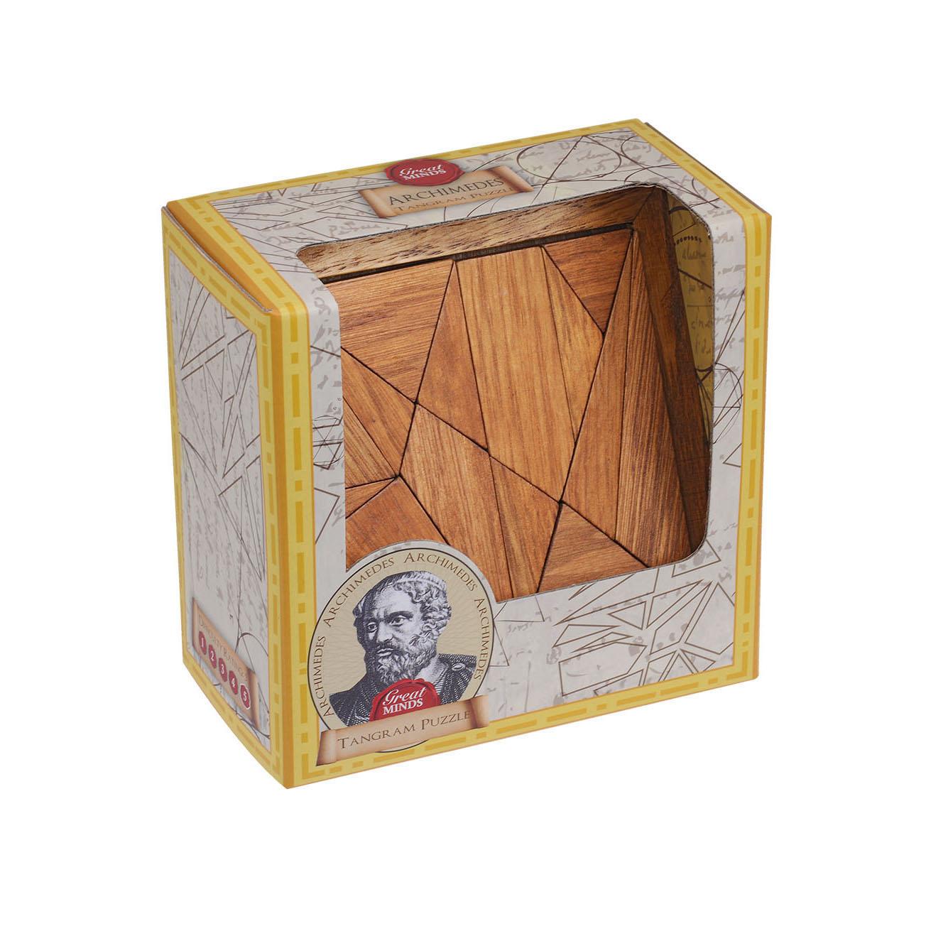 Great Minds: Pythagoras' Tangram Puzzle