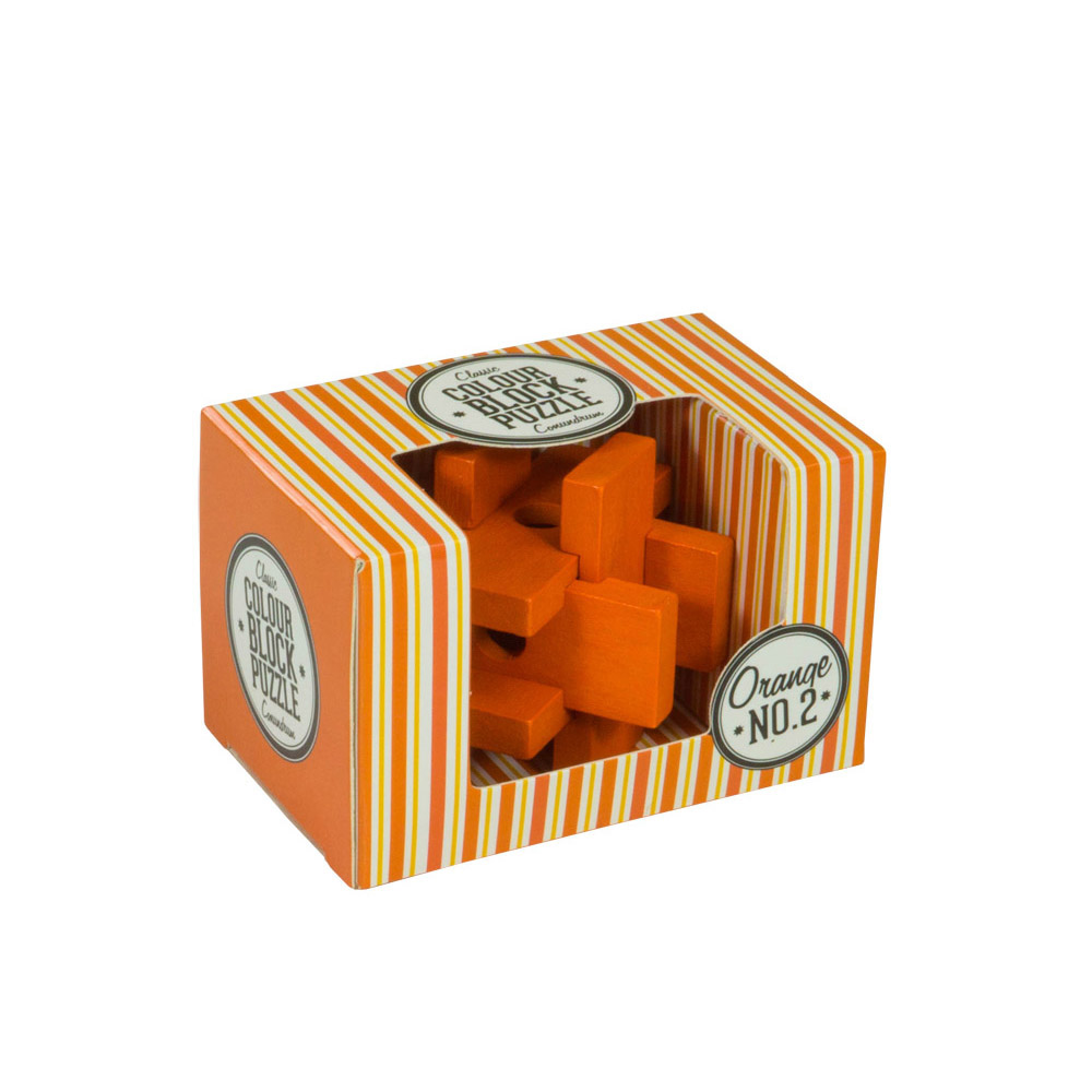Colour Blocks Puzzle - Orange