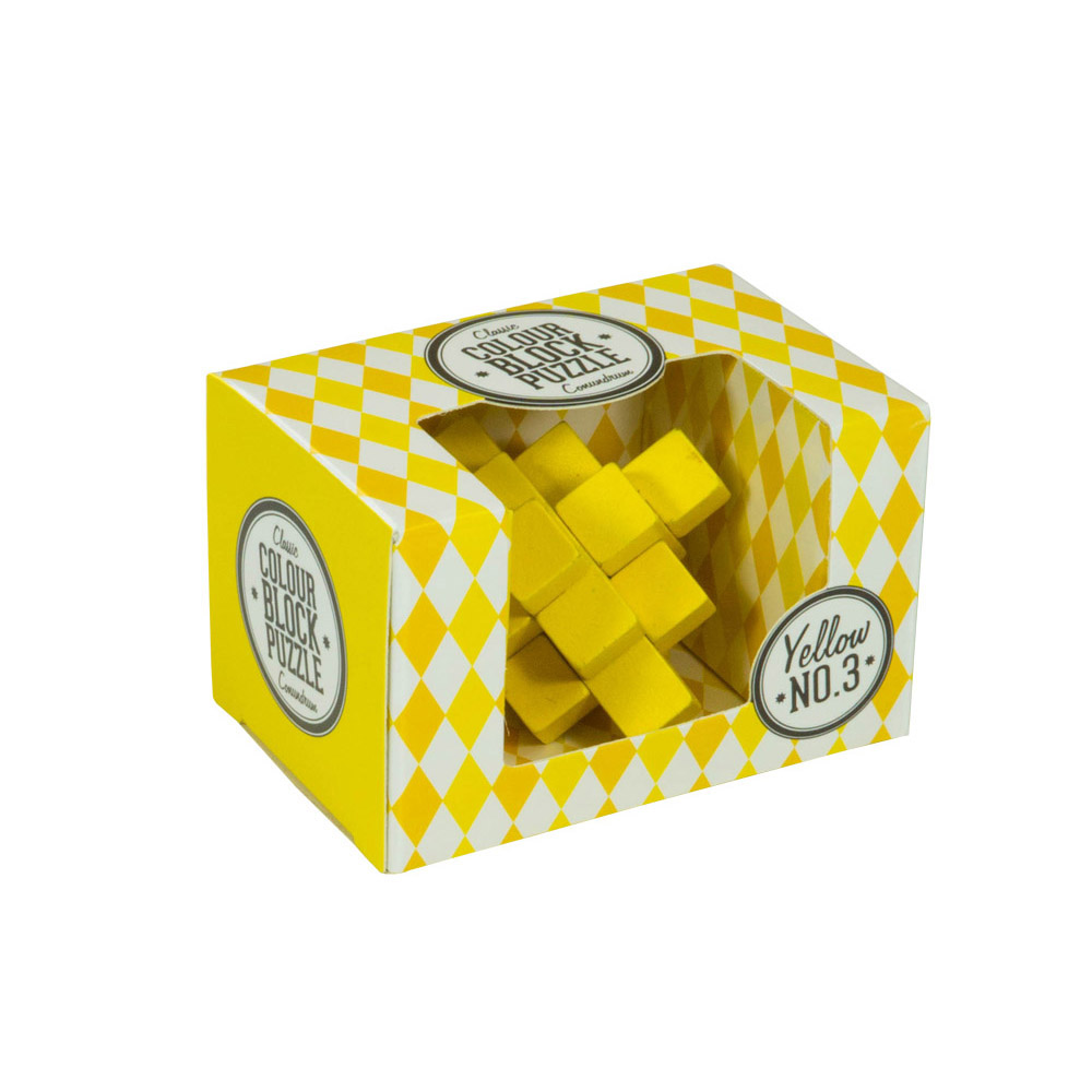 Colour Blocks Puzzle - Yellow