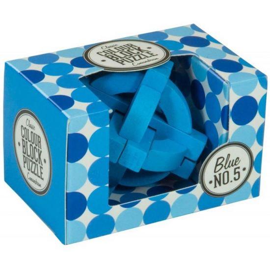 Colour Blocks Puzzle - Blue