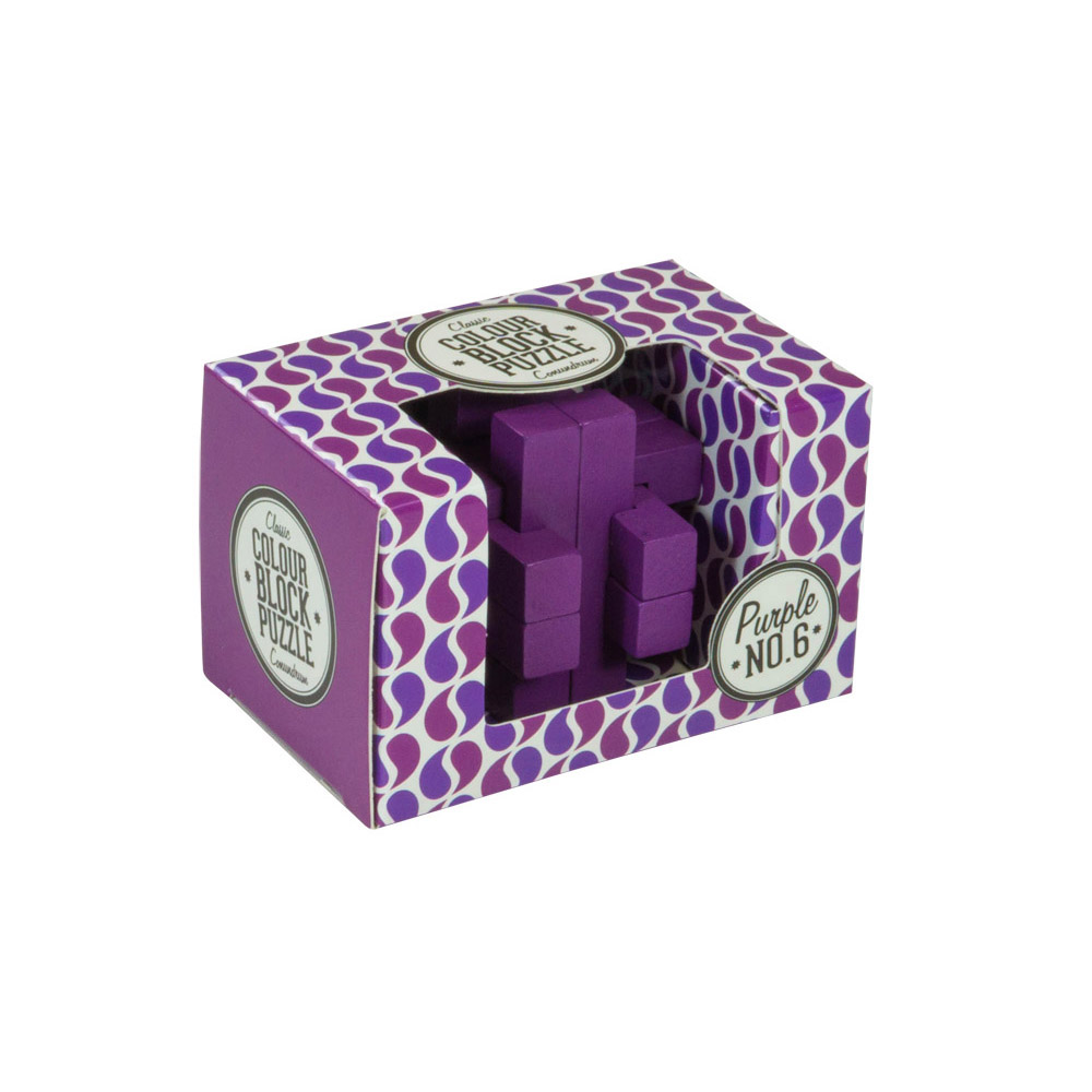 Colour Blocks Puzzle - Purple