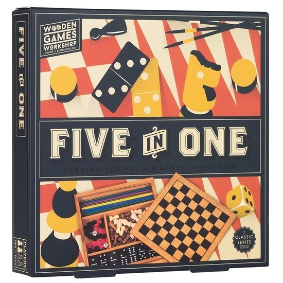 Five in One Games Compendium