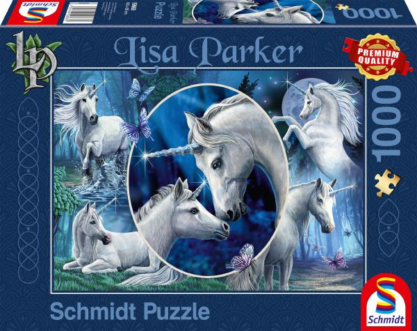 "Pusle ""Charming Unicorns"" 1000 tk"
