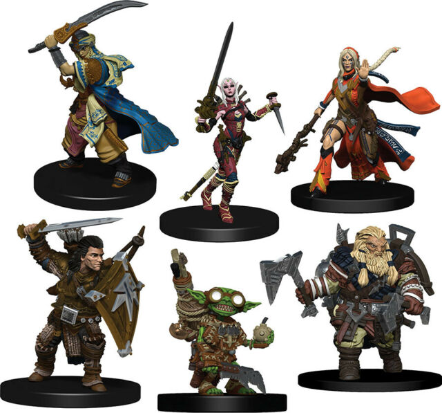 Pathfinder Iconic Heroes Evolved