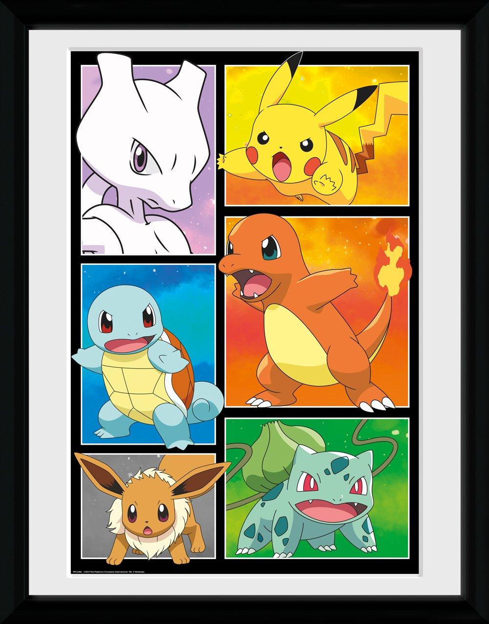 Pokémon Comic Panels Plakat