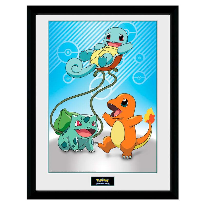 Pokémon Kanto Starters Plakat