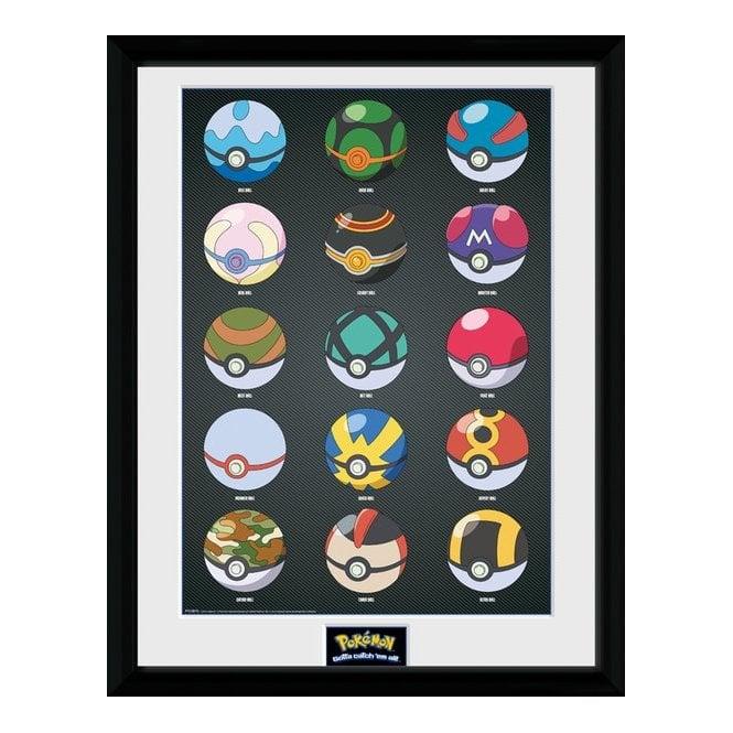 Pokémon Pokeballs Plakat