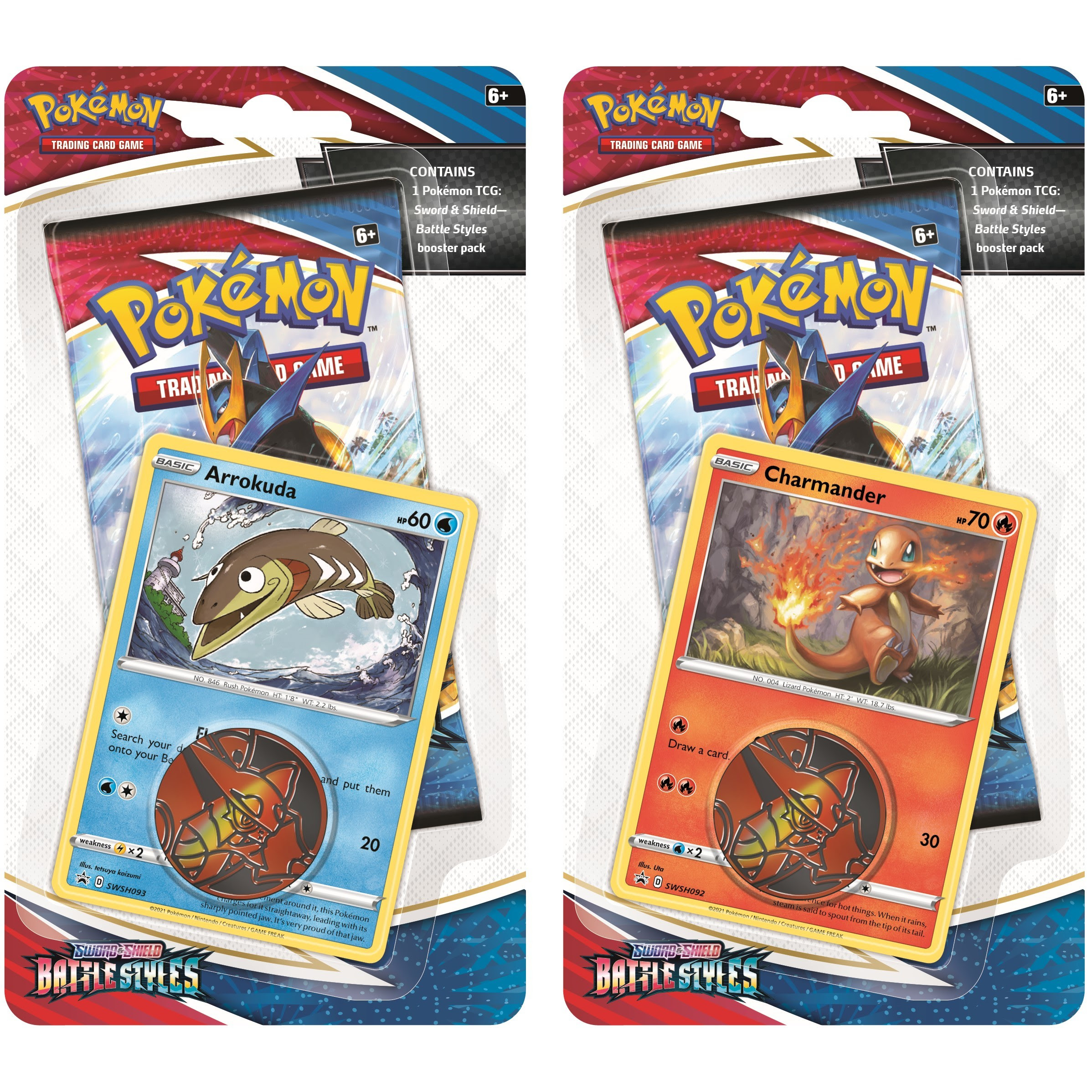 Pokemon Battle Styles blister