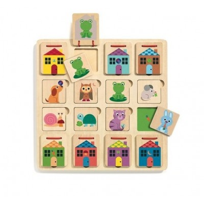 Wooden Puzzles - Cabanimo
