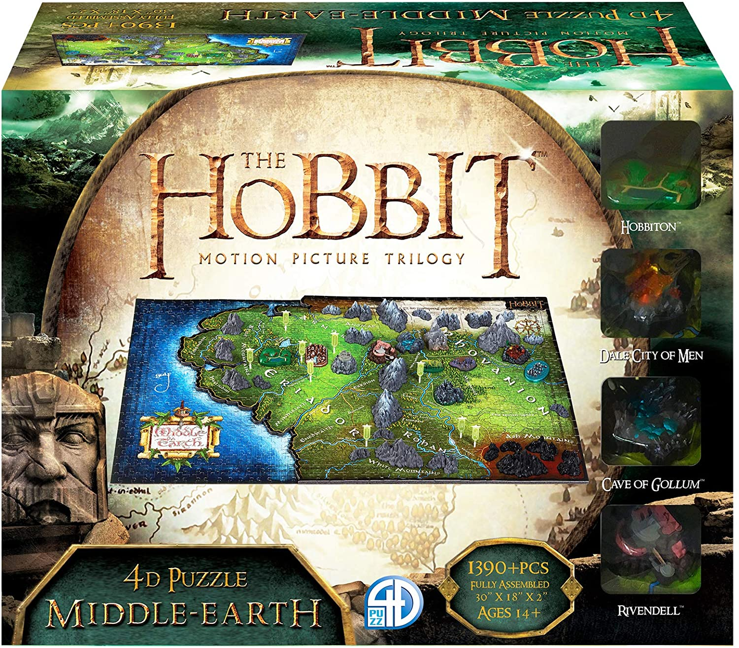"""Pusle """"4D Cityscape: The Hobbit - Middle Earth"""""""