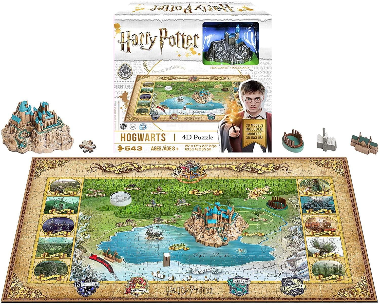 """Pusle 4D """"Harry Potter Mini Hogwarts"""" 543 tk"""