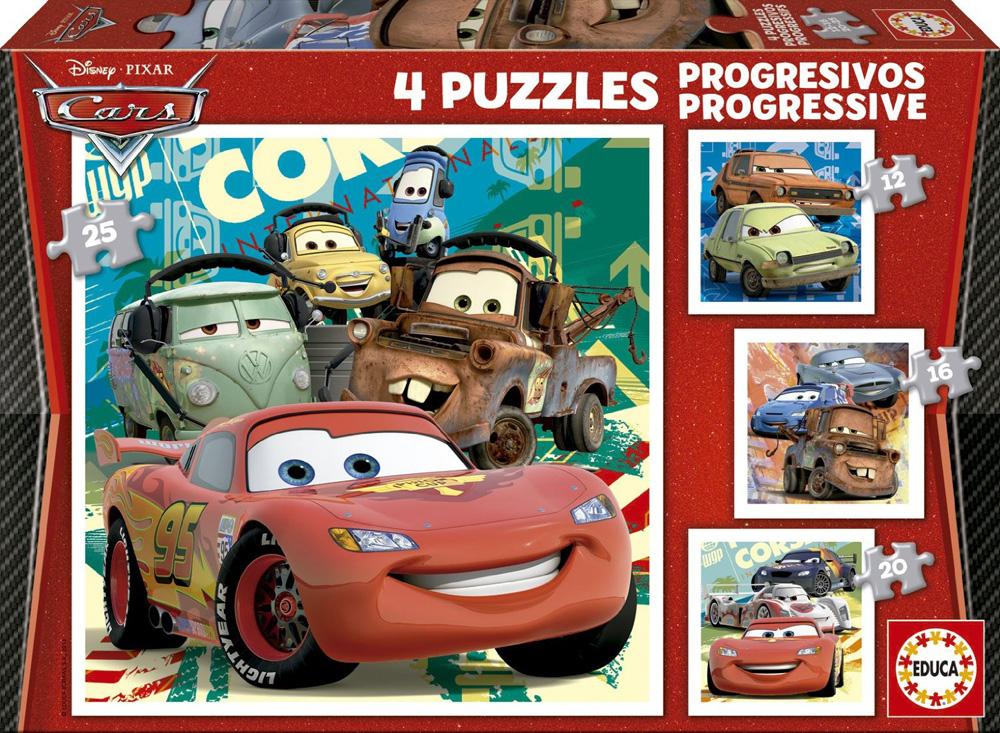 "Pusle ""4 PROGRESSIVE CARS"" 12-16-20-25 tk"
