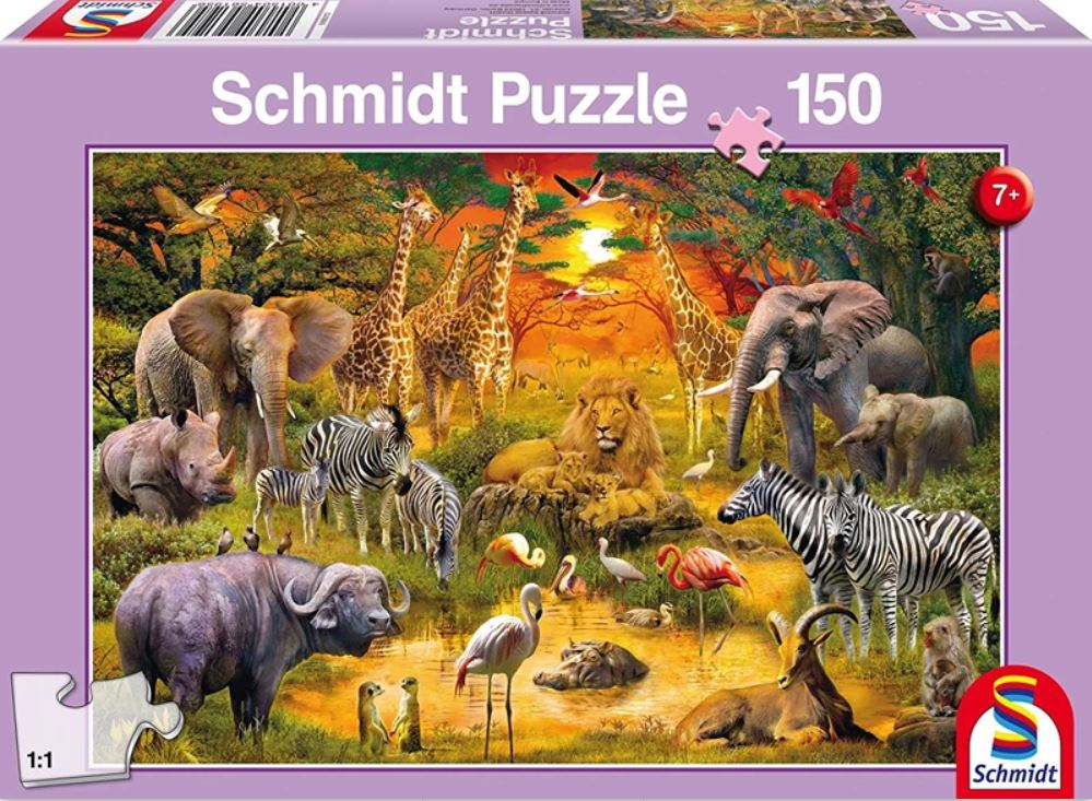 Pusle ''Aafrika Loomad'' 150tk