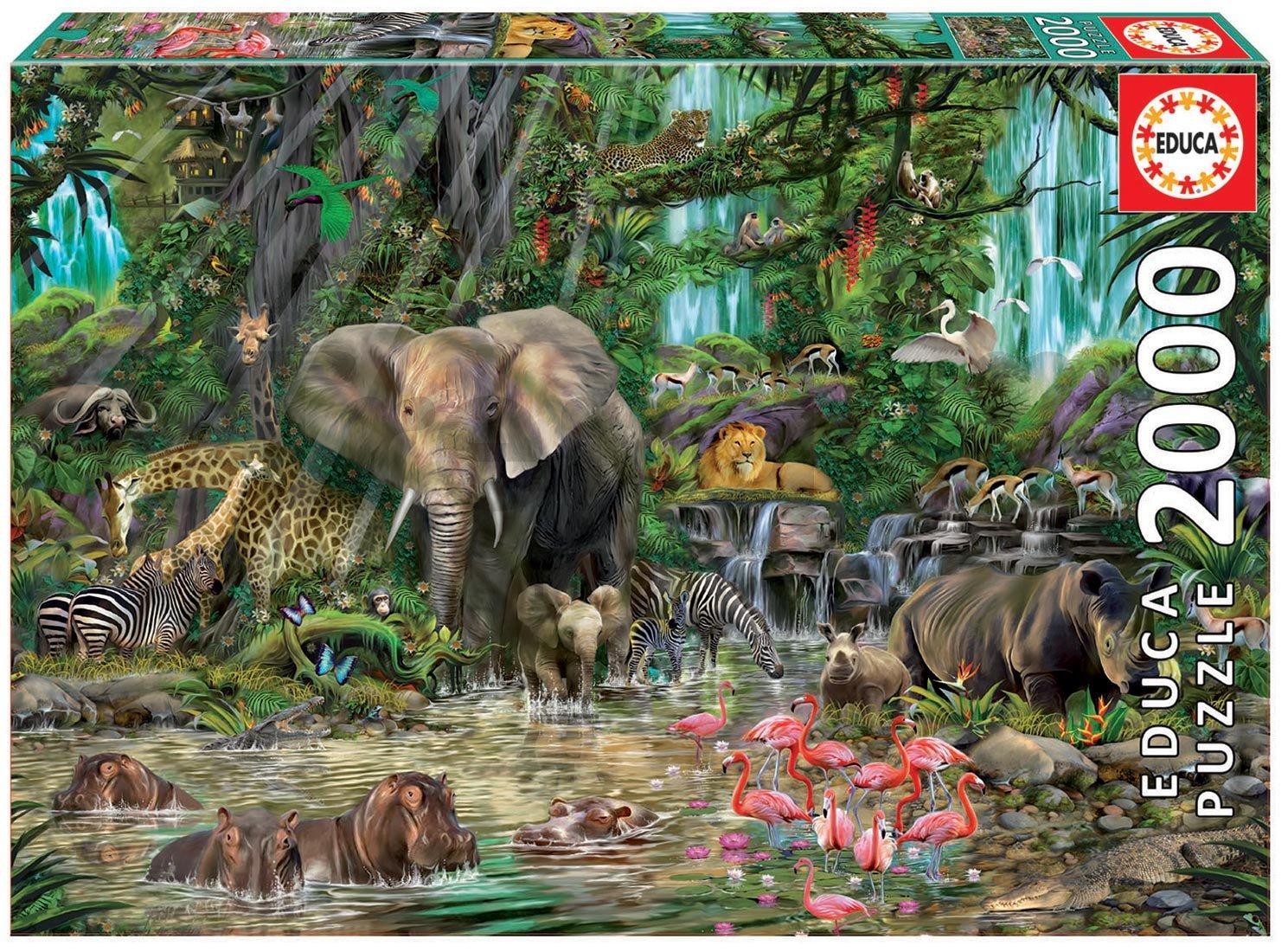 """Pusle """"Aafrika džungel"""" 2000 tk"""
