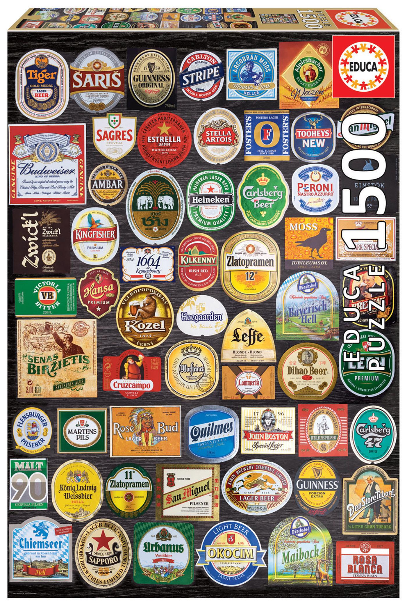 """Pusle """"Beer labels collage"""" 1500 tk"""