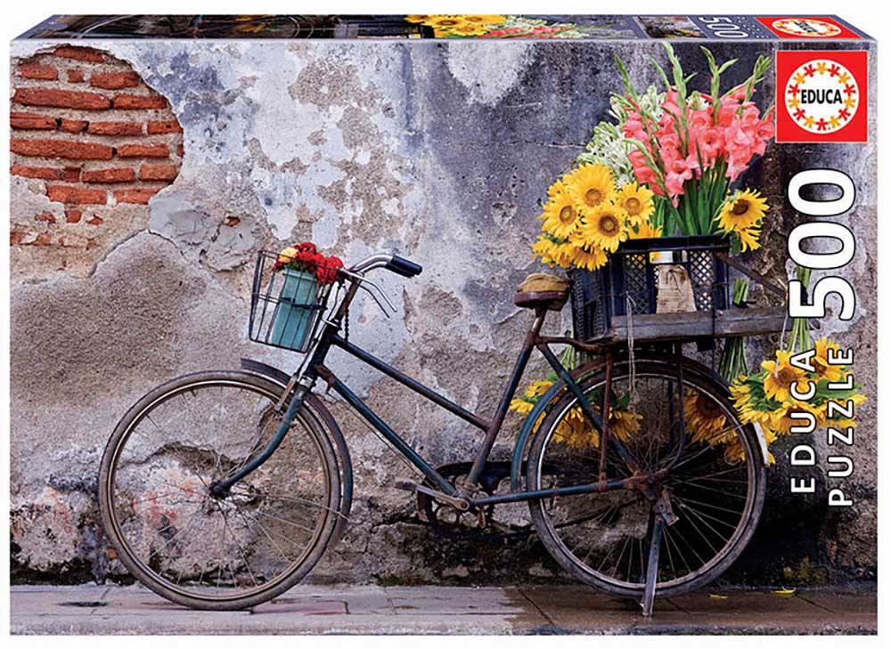 "Pusle ""Bicycle with Flowers"" 500 tk"