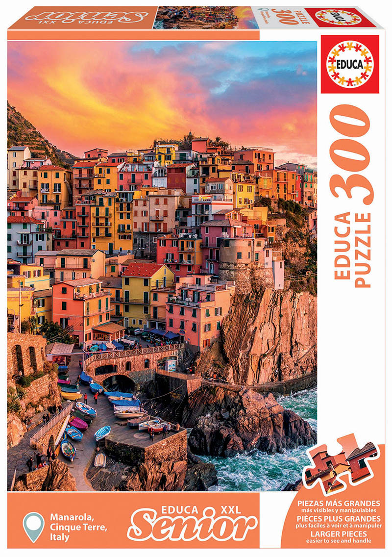 "Pusle ""Cinque Terre, Italy"" XXL 300 tk"