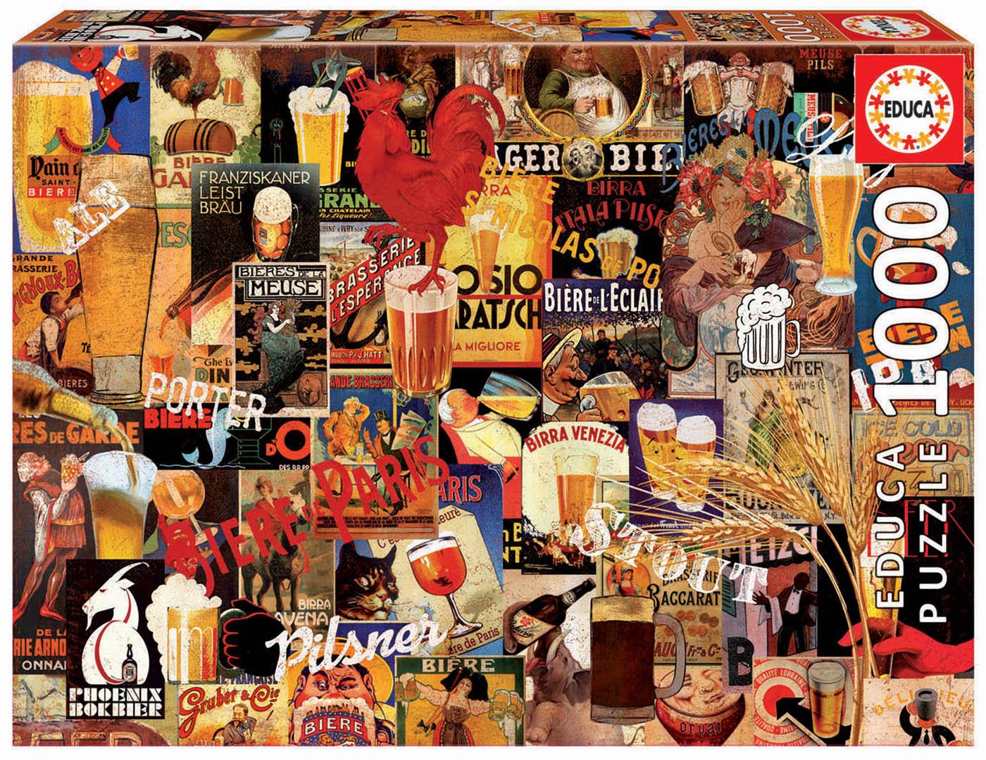 "Pusle ""Collage cerveza vinta"" 1000 tk"