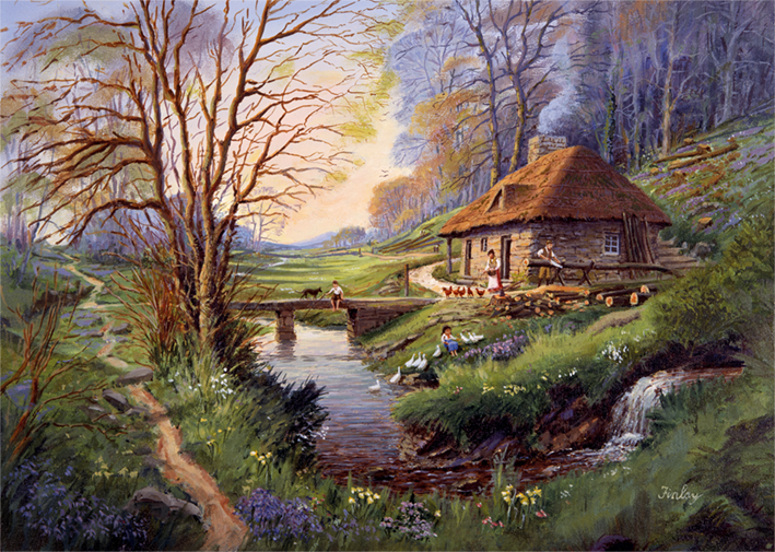 """Pusle """"Cottage in the Woods"""" 1000 tk"""