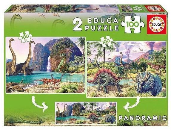 "Pusle ""Dino World"" 2x100 tk"