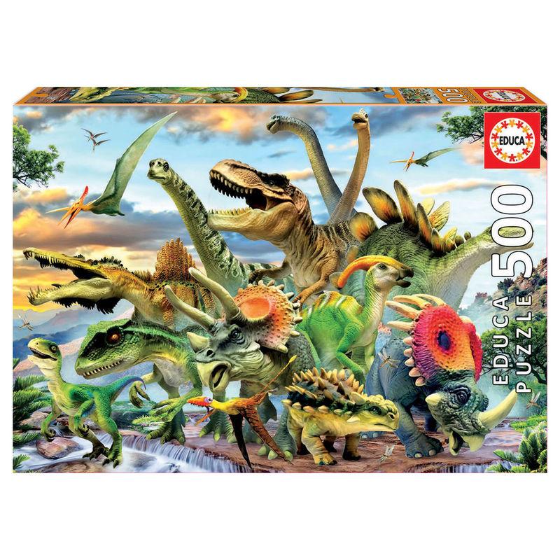 "Pusle ""Dinosaurs"" 500 tk"