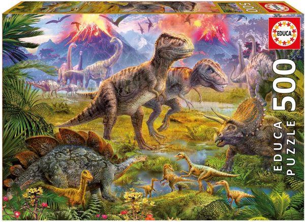 """Pusle """"Dinosauruste kogunemine"""" 500tk"""