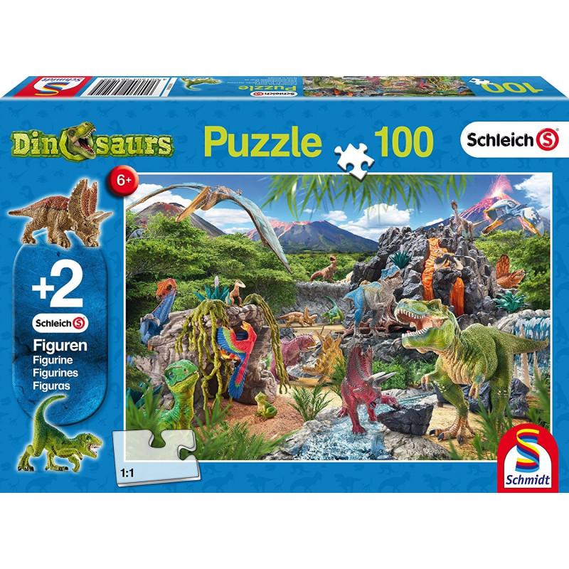 Pusle ''Dinosauruste kuningriik'' 100tk