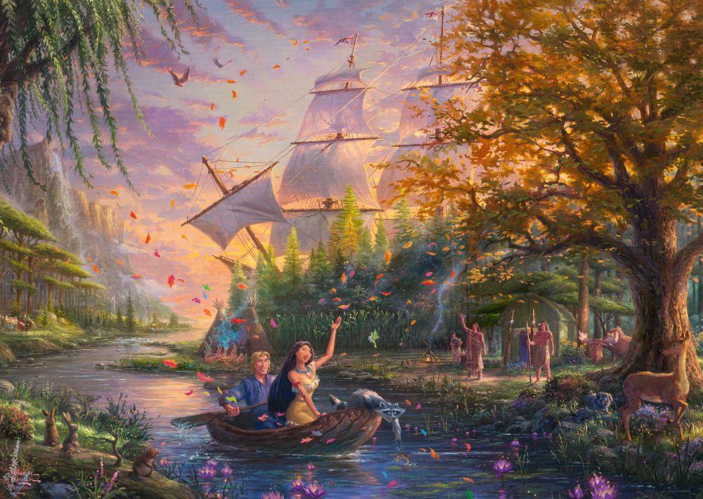 "Pusle ""Disney, Pocahontas"" 1000 tk"