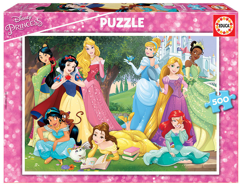 "Pusle ""Disney princesses"" 500 tk"