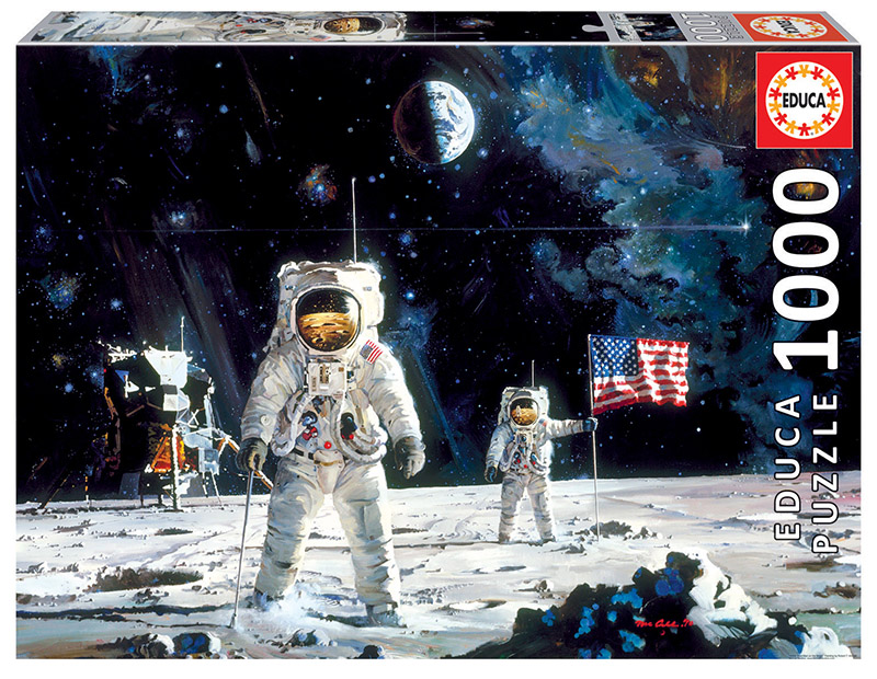 """Pusle """"First Men on the Moon"""" 1000 tk"""