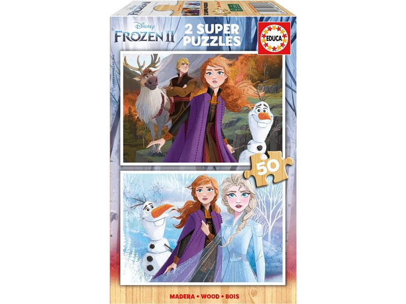 """Pusle """"Frozen 2"""" 2x 50 tk"""