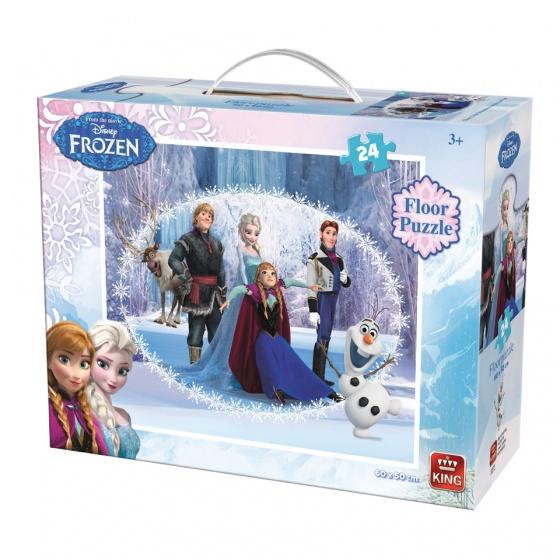 Pusle ''Frozen põrandapusle'' 24 tk